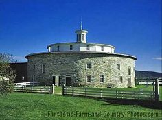 old iowa barns | The round barn at Hancock Shaker Village. Hancock Shaker Village is a ...