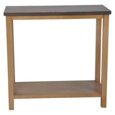 Threshold™ Mixed Metal Console Table - Brown