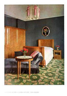 Vintage Printable at Swivelchair Media - Beta | Design – Interior – Bedroom, pink, grey moderne