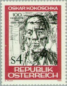 100th birthday of Oskar Kokoschka