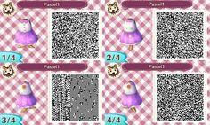 Animal Crossing QR Codes - Sleeveless Dresses