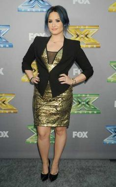 #DemiLovato steps out at 'The X Factor' season finale at #CBS Televison City on December 19, 2013 in Los Angeles. See who else has been spotted here: http://celebhotspots.com/hotspot/?hotspotid=6496&next=1