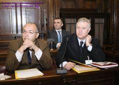 Da sinistra, i Consiglieri Giuseppe Strano ed Attilio Iaccarino. Alle loro spalle il Consigliere Valentino Laiti.