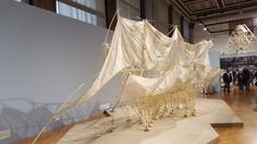 Strandbeest at the Chicago Cultural Center