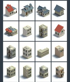 Isometric Map Builder - Mapita on Behance Minecraft House Plans, Minecraft City, Minecraft House Designs, Isometric Map, Isometric Drawing, Isometric Design, Voxel Games, 2d Game Art, African Paintings