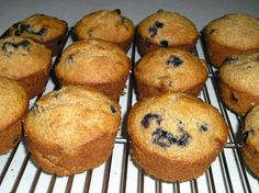 Honey Whole Wheat Blueberry Muffins (No Sugar) perfect with beetroots purée, plain and with strawberries... Also some ground flaxseeds and coconut oil