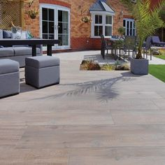 Pavestone Crosswood Cinder Porcelain - A favourite here at Paving Direct! Strength and durability of porcelain meets the natural beauty and warmth of timber. The wood fibres alternate and blend with each other and piece by piece create unique compositions and colour contrasts. https://www.pavingdirect.com/porcelain-paving-crosswood-buff-1200x300 ____________________________________________________ All products available to order online 24/7 www.pavingdirect.com Phone Lines & Order Line…
