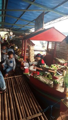 Floating Market in Lembang  #Bandung #Indonesia