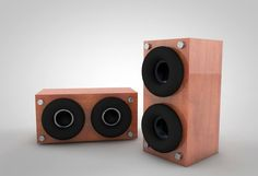 Desktop Speakers, Apple Tv, Remote, Squares, Desktop, Texture, Wood, Pilot