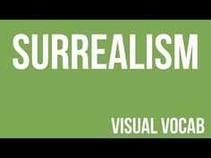 Surrealism defined - From Goodbye-Art Academy - YouTube