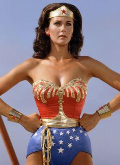 Female Superheroes Brought to Life - Lynda Carter as Wonder Woman