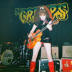The cramps in States Theatre in st. Petersburg, Florida date unknown The Cramps, Punk Goth, Post Punk, Poison Ivy, Rockabilly, Rock And Roll, Waves, Band, Hot