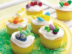 Bug Cupcakes great for kids Partys