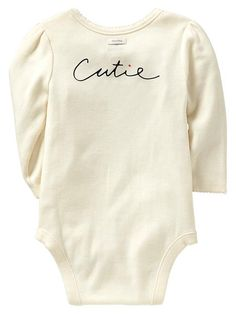 Cotton Bow Onesie With Picot Trim For A Baby Girl - Sweet Onesies