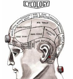 Cycology #cyclists #cycling #bike #bicycle #brain #psychology