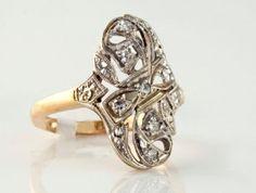 $699.00 14 Karat Two-Tone $699.00, I-11605 #14 karat two tone #fashion ring #westchestergold #estate #designer ring