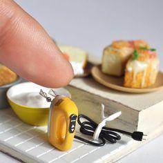 Miniature baking scene