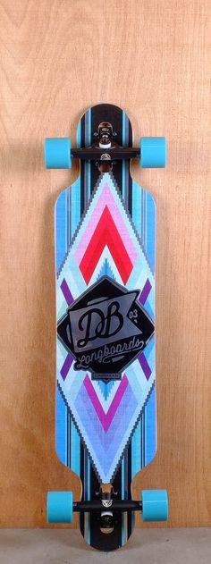 "DB Prebuilt 40"" Cabraken Longboard Complete Bottom"