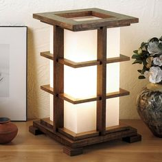 Warm-glow accent lamp