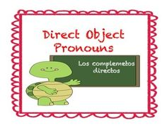 This product is utilized to teach direct object pronouns in Spanish. This presentation has three themes: camping, beach, and making a snowman. There are several slides for student practice! Object Pronouns, Make A Snowman, Spanish, Presentation, Objects, Camping, Student, Teaching, Beach