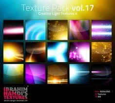 Texture Pack vol.17 Creative Light Textures 4 by adriano-designs.deviantart.com on @DeviantArt