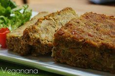Bolo de lentilhas Vegano - Veganana