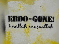 Erdo-Gone! / Cihangir #istanbulsokak #duvarlaraozgurluk #istanbulstreetart #sokaksanatı #streetart #graffiti #stencil #wallart #mural #sticker #streetwriting #urban #urbanart #istanbul #beyoglu #kadikoy #besiktas #turkiye #art #rte #direngezi #direngeziparki #resist #occupygezi