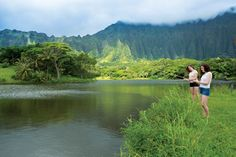Situated at the foot of the majestic Koolau Range, Hoomaluhia Botanical Garden is a treasure trove of flora from the world's tropics, and a back-to-nature Oahu oasis you'd never guess is completely manmade.
