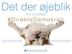 Det der øjeblik du opdager #DirekteDemokrati og indser du har levet et hundeliv  www.DirekteDemokratiDanmark.dk Movie Posters, Movies, Art, 2016 Movies, Craft Art, Popcorn Posters, Kunst, Movie, Films