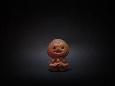 木彫り土偶 4号