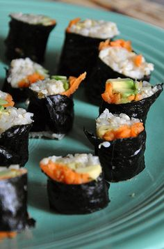 SUSHI on Pinterest | Sushi Rolls, California Rolls and Sushi Recipes