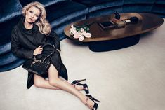 Kate Moss wows in the fall 2012 advertisements shot by Inez van Lamsweerde and Vinoodh Matadin