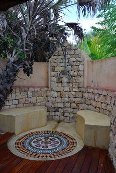 Art De Vivre by Francine Gardner  Loved our outdoor shower, in Mozambique