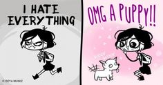 15 Comics Showing the Essence of Ladies
