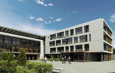 Toros Akdeniz Koleji Projesi, Görselleştirme Çalışması. Proje Müellifi: Zambak Mimarlık