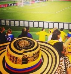 Colombia Vueltiao Sombrero Band World Baseball Classic FIFA World Cup Qualifier #Colombia