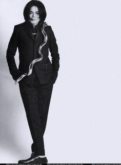 Uomo Vogue 2007 photoshoot - michael-jackson Photo