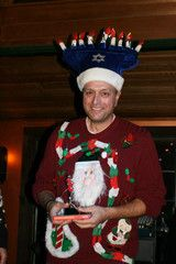 Fun picture from last year's annual Rock Your Ugly Christmas Sweater Party in Killington, Vermont! If you want to look this tacky at your ugly Christmas sweater parties, visit www.myuglychristmassweater.com to get your very own!