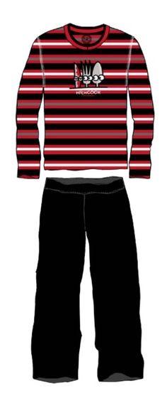 Pijama Kukuxumusu hombre Hithcook