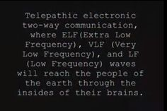 ❥ This technology is already being used and 'tested' on people today. There have been reports of people hearing voices in their heads already. Smart meters, cell phone towers and 'smart' electronics with motherboards are being used to bring these frequencies into your home and thus bombard your body and mind with them. Mind control is not a theory, it's a fact.