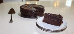 Sacher Torte - a delicious Austrian chocolate mud cake recipe