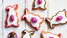Maltese marzipan-filled biscuits, perfect for Easter but use any shape of biscuit cutter for any other occasion! Easter Bun, Easter Eggs, Easter Food, Maltese, Easter Biscuits, How To Make Icing, Slow Cooked Lamb, Sbs Food, Bath Bombs