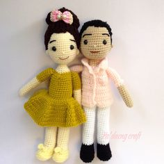 Crochetdolls cute