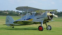 Gladiator Mk.I L8032 of the Shuttleworth Collection