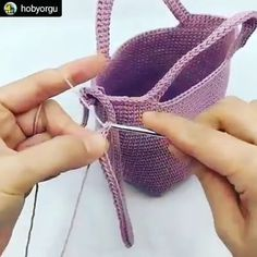 Most recent Absolutely Free Crochet Bag videos Suggestions Crochet lesson series Crochet Cord, Crochet Diy, Love Crochet, Crochet Crafts, Crochet Projects, Beautiful Crochet, Crochet Bag Tutorials, Crochet Videos, Beginner Crochet Tutorial