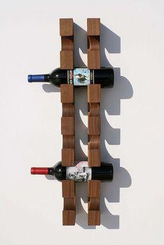 Wine rack. #DIY #House&Home #S4L #www.spice4life.co.za