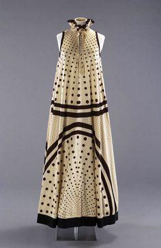 'Tiddlewinks' evening dress, John Bates, Spring 1974