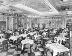 Mn Augustus (N.G.I. - 1928) First class Dining Room.