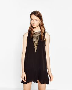 Image 2 of FLOUNCE LACE DRESS from Zara