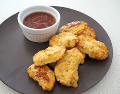 These Thermomix Cauliflower Nuggets are super easy to make and are a great alternative to traditional store bought nuggets. Cauliflower Nuggets, Cauliflower Cheese, Cauliflower Recipes, Savory Snacks, Healthy Snacks, Snack Recipes, Cooking Recipes, Healthy Recipes, Radish Recipes